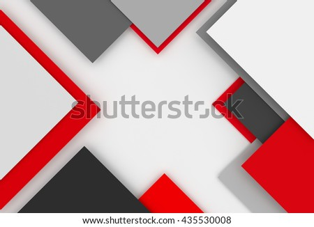 3D generated colorful abstract illustraction as background - stock photo