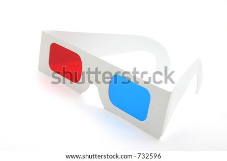 3-D Glasses - stock photo