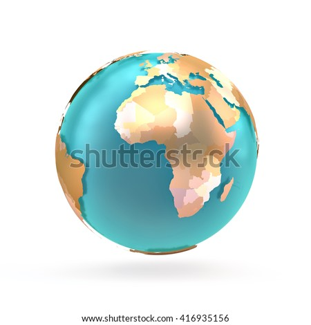 3 d globe map world continents countries stock illustration 3d globe map of the world continents and countries globe with shadow on a gumiabroncs Image collections