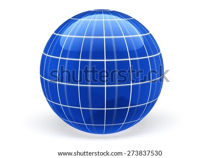3D. Globe, Sphere, Earth.