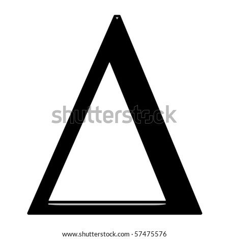 greek letter delta 3 d letter delta stock illustration 57475576 11087 | stock photo d greek letter delta 57475576