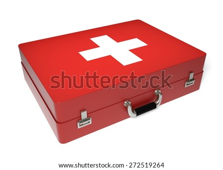 3D. Healthcare And Medicine, Medical Exam, First Aid. - stock photo