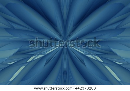 3D illustration abstract background.