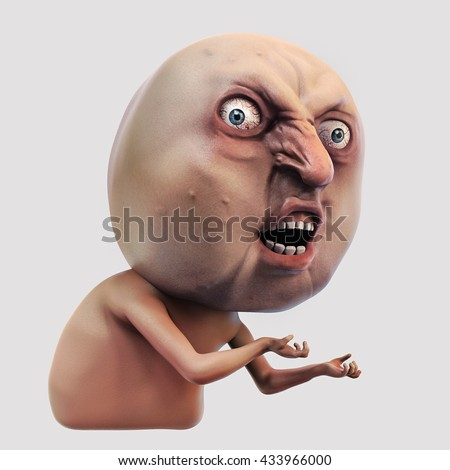 stock photo d illustration internet meme why you no rage face isolated 433966000 meme stock images, royalty free images & vectors shutterstock
