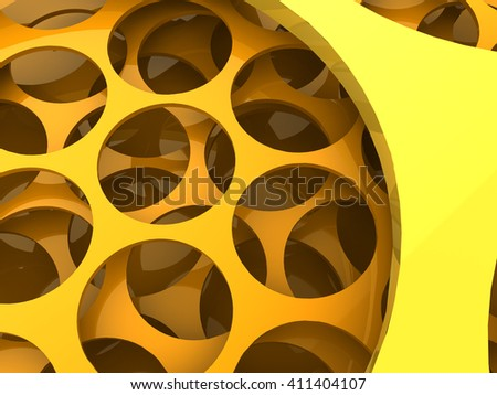 3d illustration of abstract background