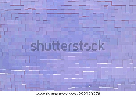 3D image Abstract  - stock photo