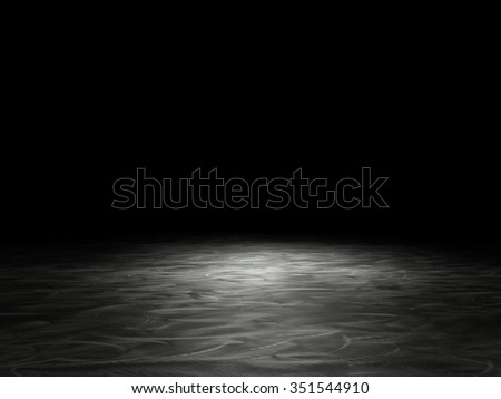 3d image of metal brushed background - stock photo