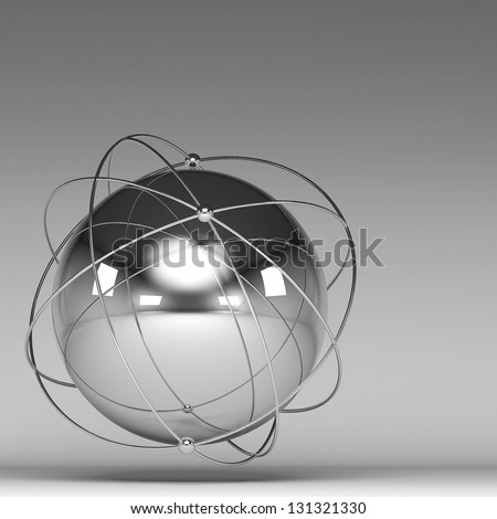 3d image of  networking - stock photo