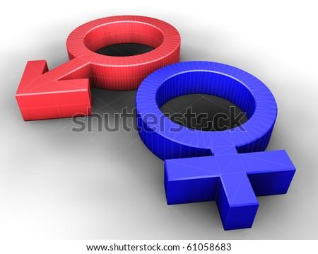 3d image of sex symbol