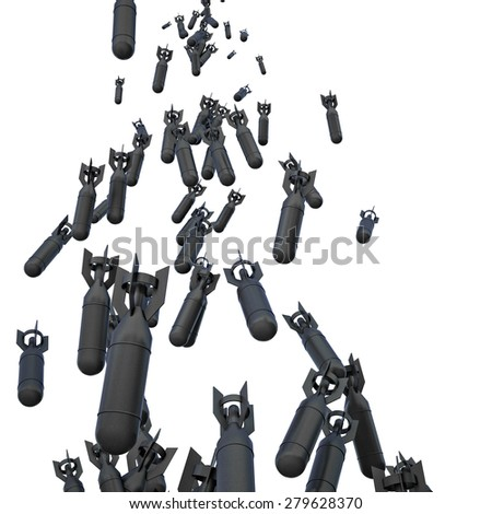 3d image of tax bomb - stock photo