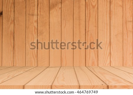 3 D Interior Wood Floor Texture Backgurand Stock Illustration