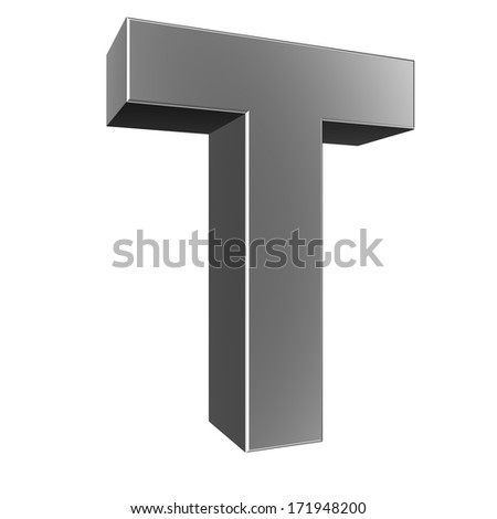 3d Letter T Stock Photos, Images, & Pictures | Shutterstock