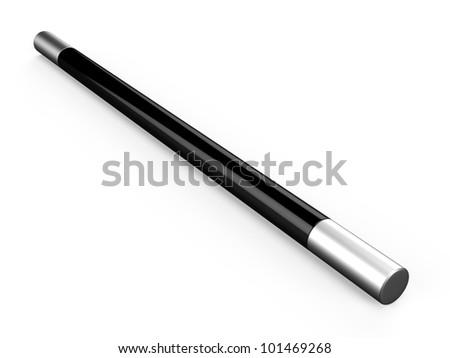 3D magic wand - stock photo