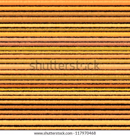 3d orange yellow cloth fiber backdrop render on black - stock photo