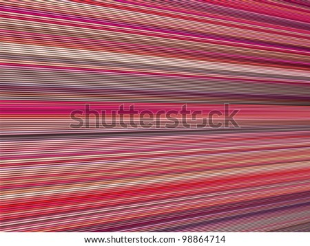 3d pink color abstract striped backdrop render - stock photo