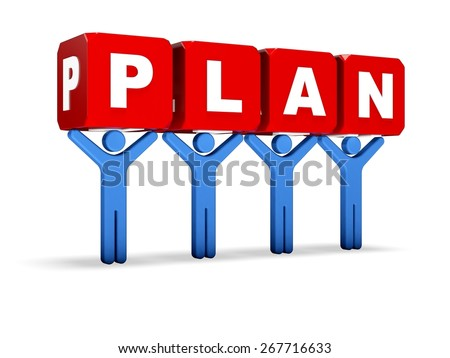 3D. Planning, Plan, Business.