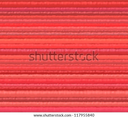 3d red cloth fiber backdrop render from close - stock photo