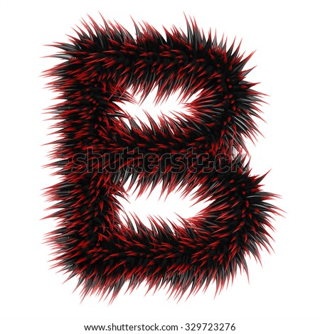 Image result for letter B thorns