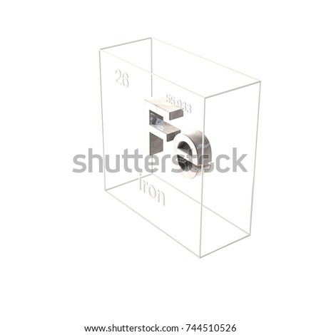 3d render iron chemical element atomic stock illustration 3d render iron chemical element atomic number and atomic weight chemical element of urtaz Gallery