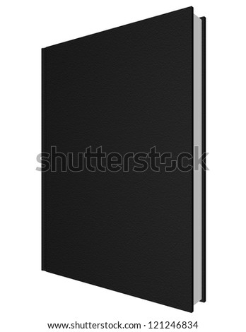 3d Render of a Leather Bound Book - stock photo