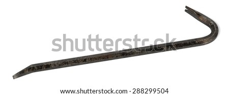 3d render of crowbar tool