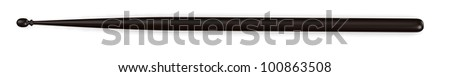 3d render of percussion stick - stock photo