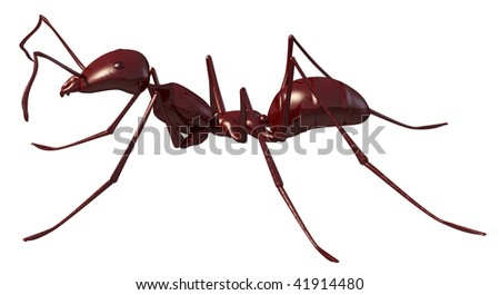 3d render of the ant