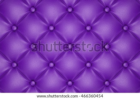 3D render of the purple quilted leather pattern