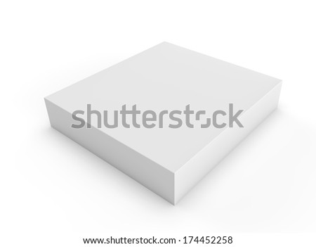 3d render on a white background for product design - stock photo