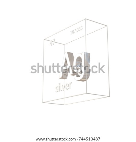 Atomic weight stock images royalty free images vectors 3d render silver chemical element atomic number and atomic weight chemical element of urtaz Image collections