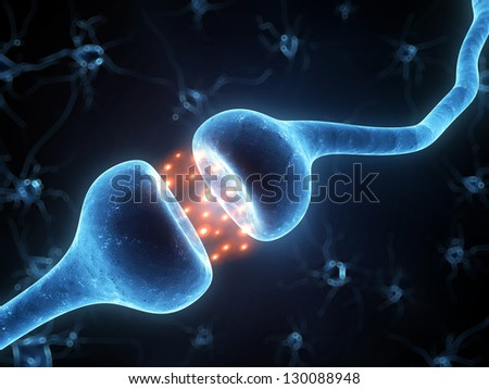 3d rendered illustration of an active receptor - stock photo