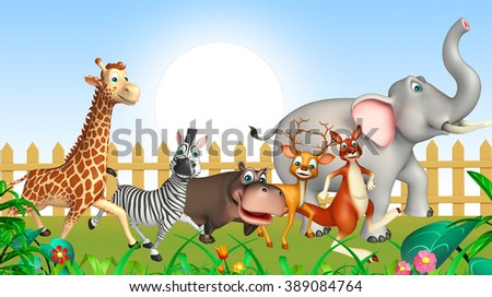 3d rendered illustration of wild animal - stock photo