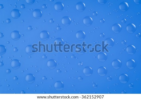 3d rendered water drop background