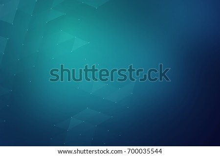3D rendering. Abstract cyan fragment web background.