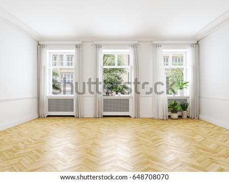 Empty Apartments Inside loft apartment stock images, royalty-free images & vectors