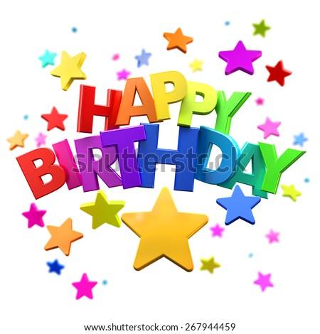 Afbeeldingsresultaat voor happy Birthday Stars