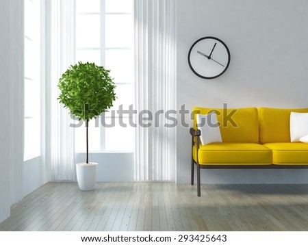 Minimalist Interior Stock Images RoyaltyFree Images Vectors