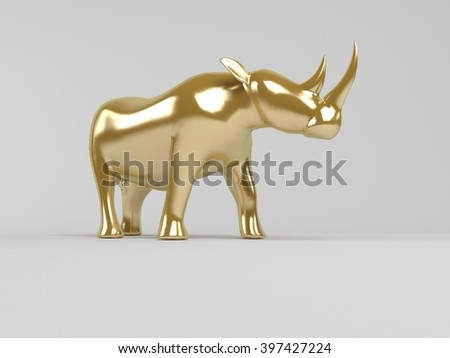 3d rendering of animal  inside a stage with high render quality to be used as a logo, medal, symbol, shape, emblem, icon, business, geometric, label or any other use.