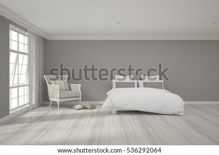 3d rendering of bedroom