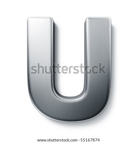 3d Letter U Stock Royalty Free & Vectors