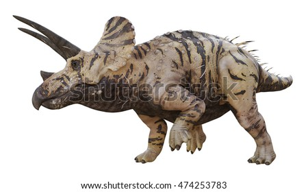 3D rendering of Triceratops Horridus.
