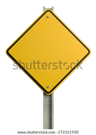 3D. Road Sign, Sign, Safety.