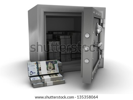 3D safe and Saudi money