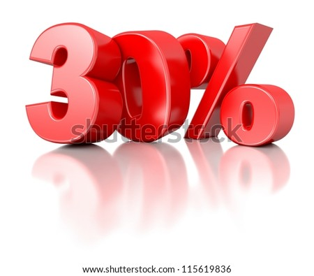 3d shiny red discount collection - 30 percent