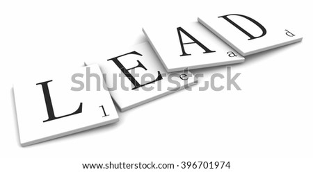 3D sign word: Lead