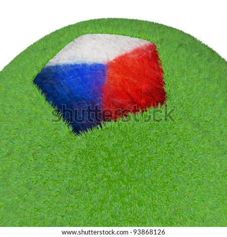 3d Soccer field-Czech Republic