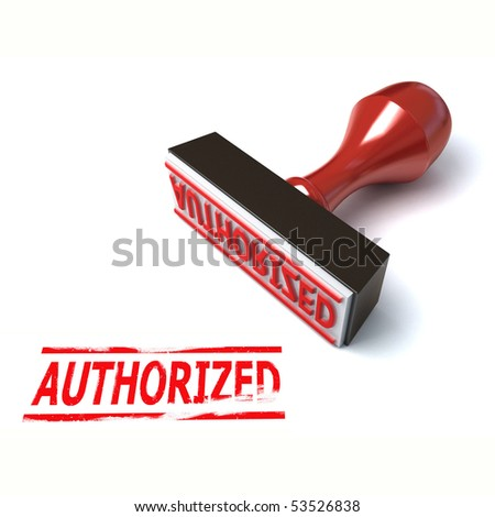 3d stamp authorized