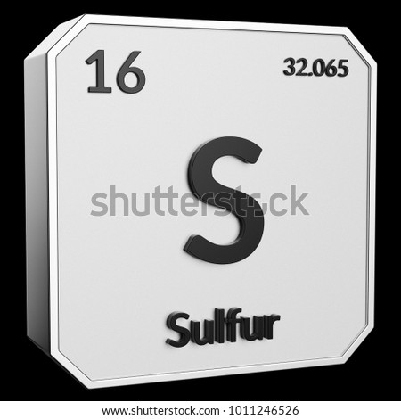 3d text chemical element sulfur atomic stock illustration 3d text of chemical element sulfur its atomic weight periodic number and symbol urtaz Image collections