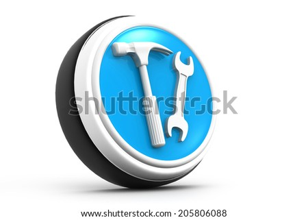 3d tools icon