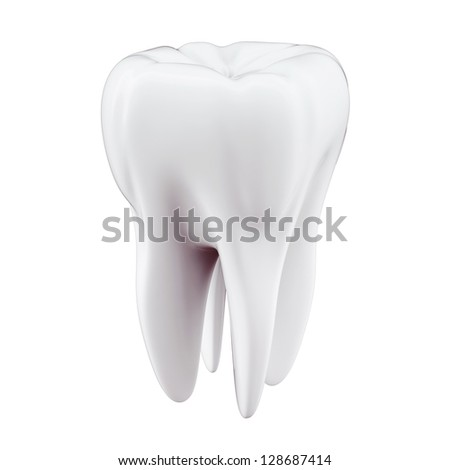3D Tooth - stock photo